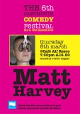 2012 Flavel Comedy Matt Harvey Poster