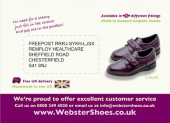 Websters Exclusive Offer Postcard - Side 2